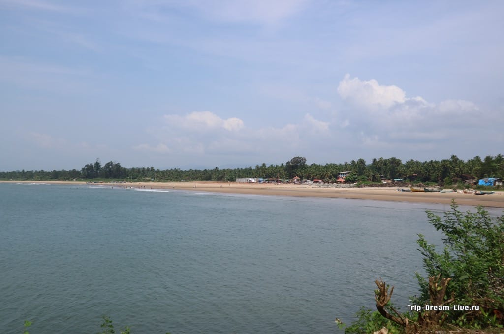 Мейн бич (Main Beach) в Гокарне