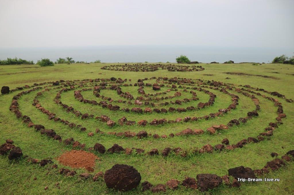 Руины Jatayu Teertha в Гокарне