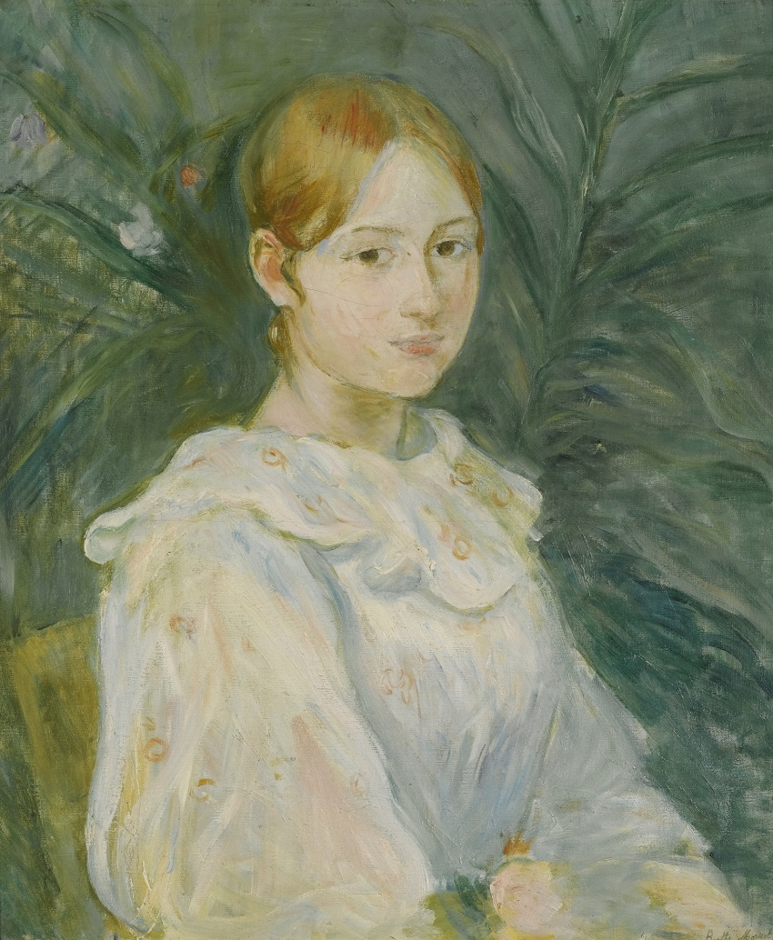 ALICE GAMBY EN BUSTE , 1890
