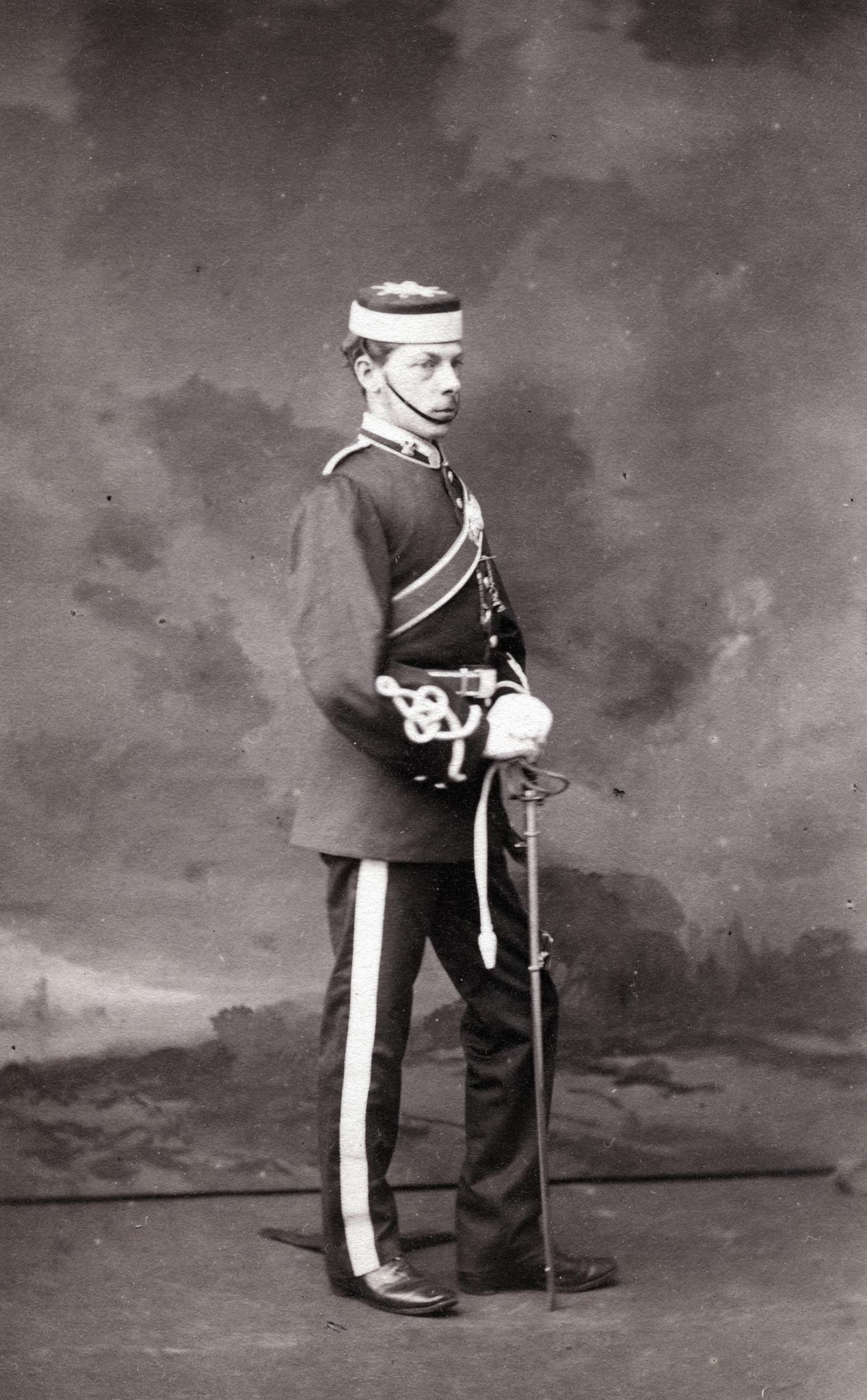 1865. Британский солдат