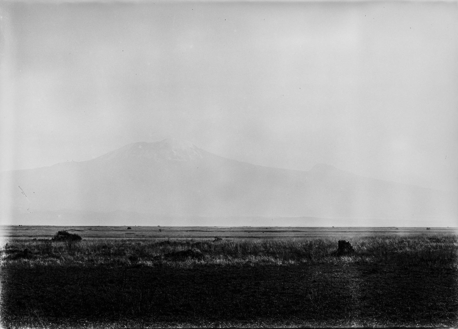 43. Степь у подножия горы Килиманджаро