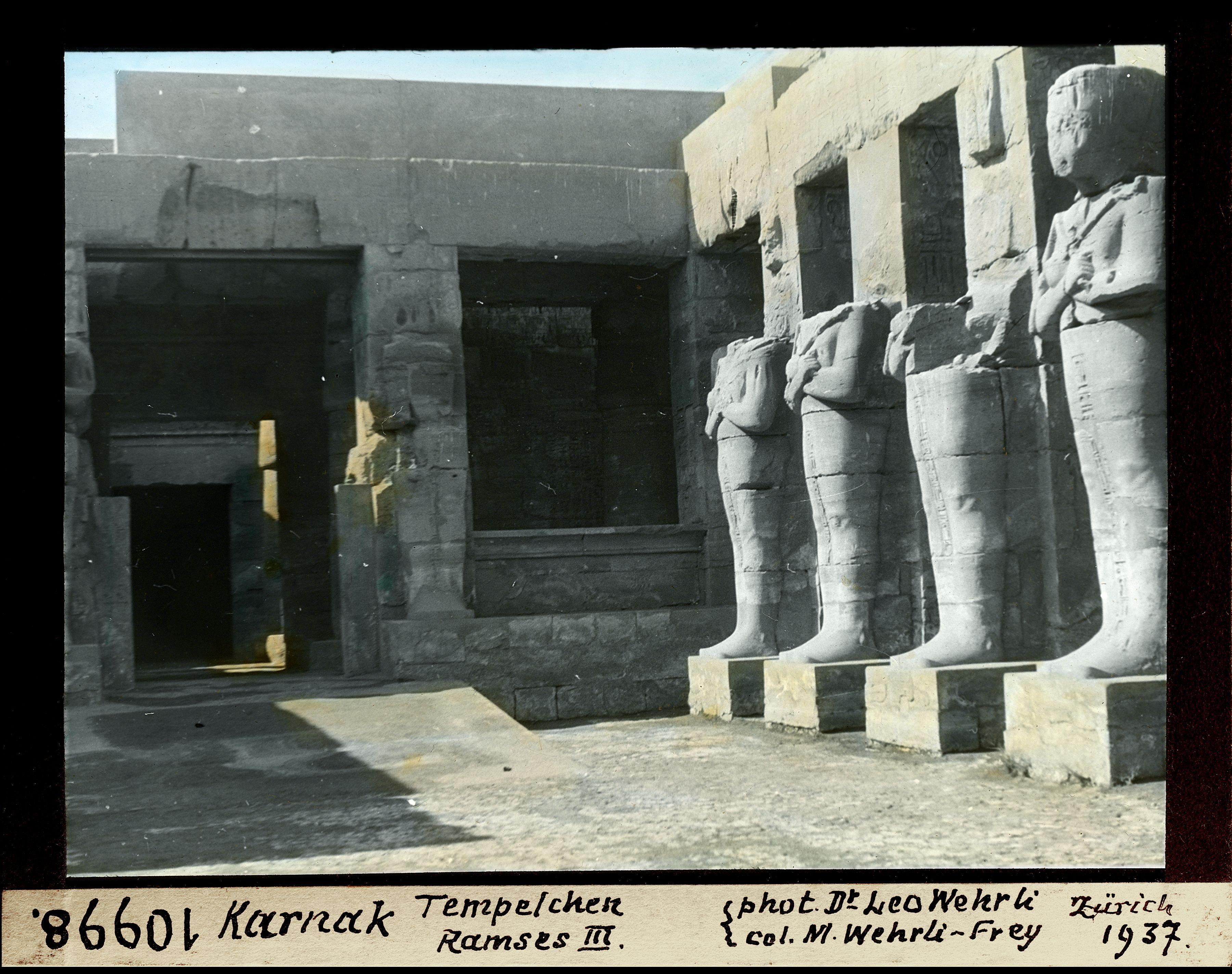 Храм Рамсеса III