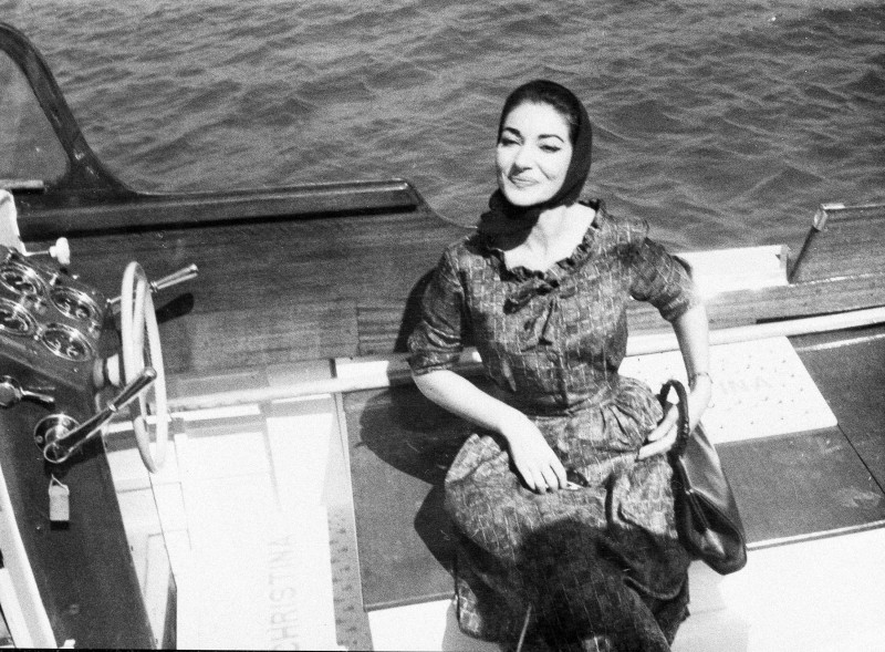 Maria Callas, Maria Meneghini Callas