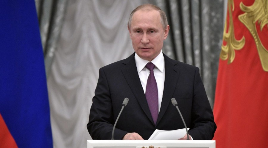 Владимир Путин поздравил Санкт-Петербургский театр имени В.Ф.Комиссаржевской с 75-летием