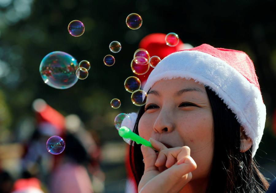 Праздничный «Tokio Santa Run»