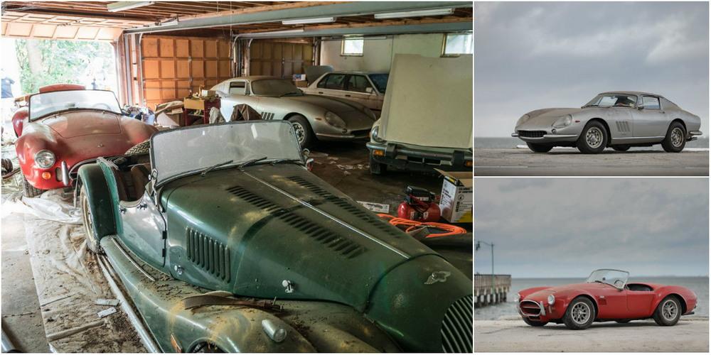 Ferrari 275 GTB и Shelby Cobra за $3.8 млн обнаружили в гараже заброшенного дома