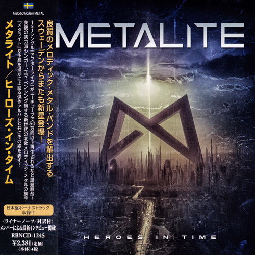 Metalite - 2017 - Heroes In Time [Rubicon Music, RBNCD-1245, Japan]