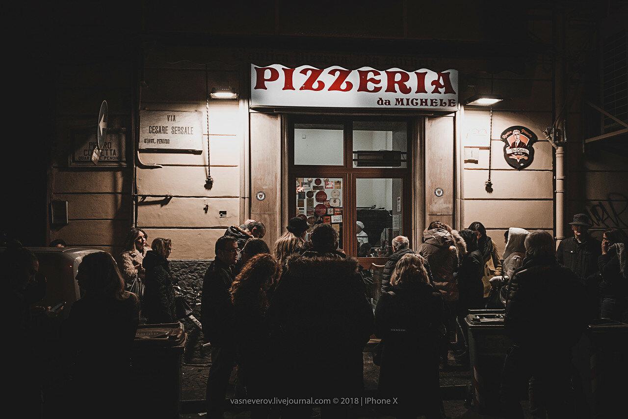 pizzeria da michele napoli italy vasneverov первая пиццерия в мире неаполь