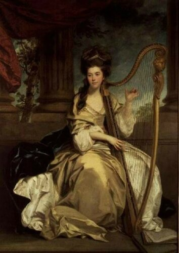 Joshua Reynolds (English, 1723-1792) Countess of Eglinton. 1777