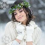 Аватарки девушки зима