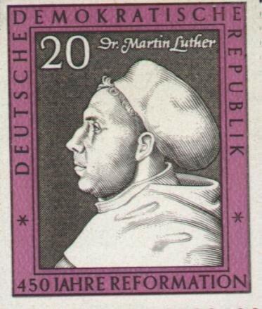 10_Почтовая марка ГДР к 450-летию 1517 года с Лютером.jpg