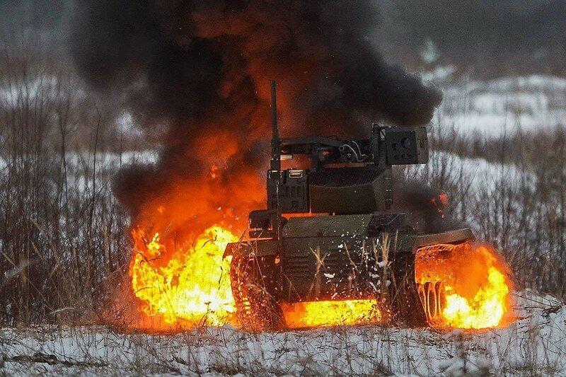 0 17f83c 590783aa XL - Нерехта - боевой робот Красной Армии