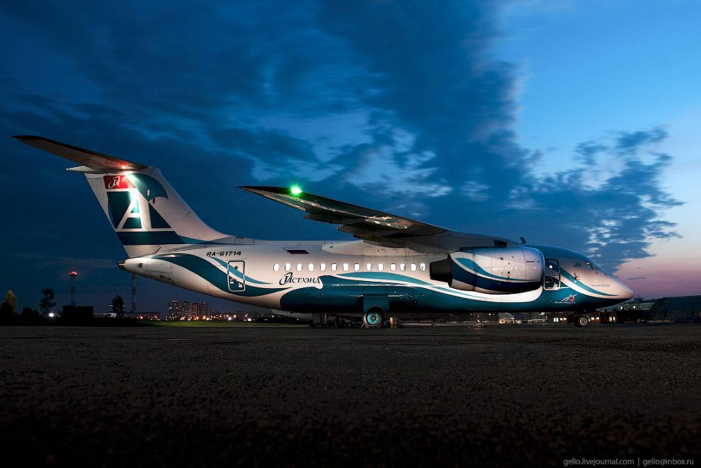 5. Эти лайнеры перевозят 70-85 пассажиров на расстояние до 4400 километров.