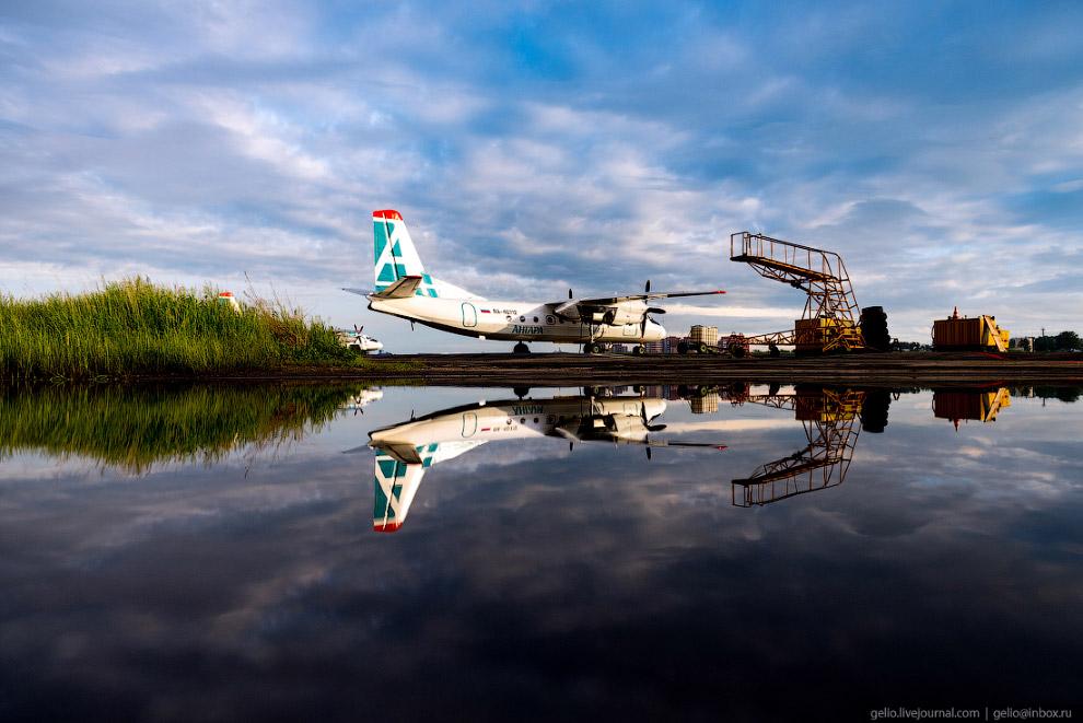 18. Регистрация пассажиров на рейс «Иркутск — Бодайбо». В регионе, который отличается большой террит
