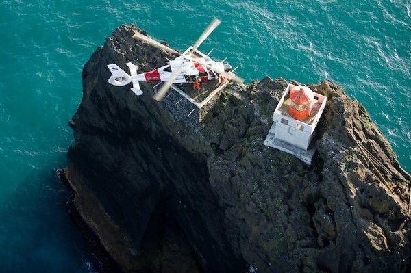 Пилот Гисли Гисласон опубликовал потрясающее видео с вертолета, когда вместе с командой приближался