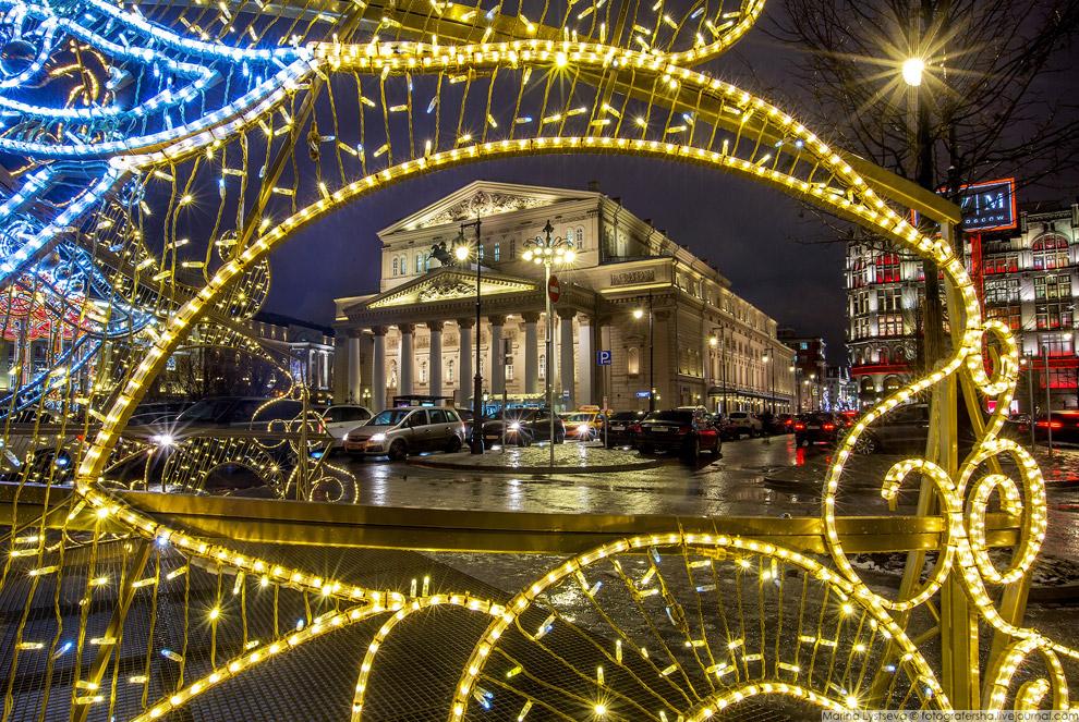 Новогодняя Москва 2017