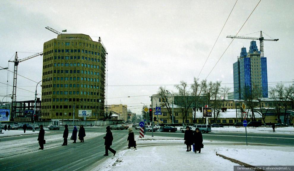 90. Июнь 2003 года. Строительство административного здания. Проект офисно-торговой пристройки к «Бэт
