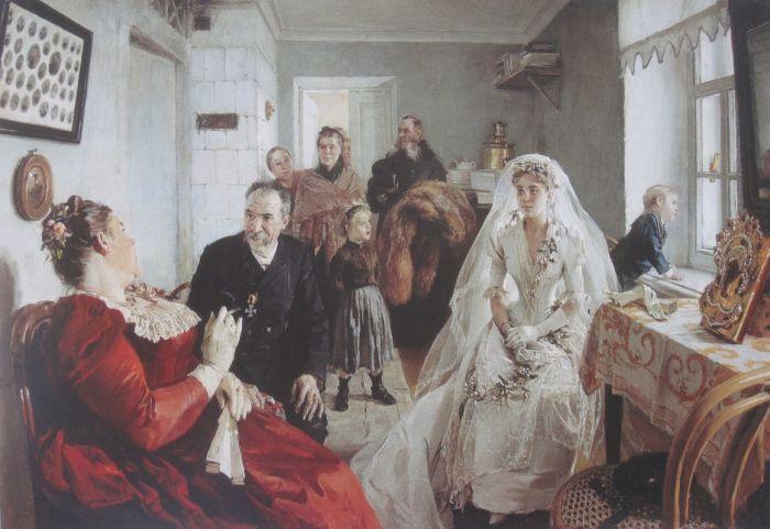 Однако похвалить русских художников за оригинальность трагической темы нельзя: ровно в те же годы по