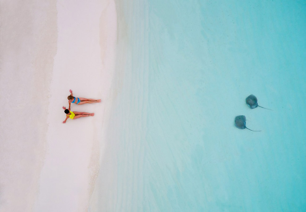 5. Серфинг в холодной Атлантике. (Фото Dronestagram/jcourtial):