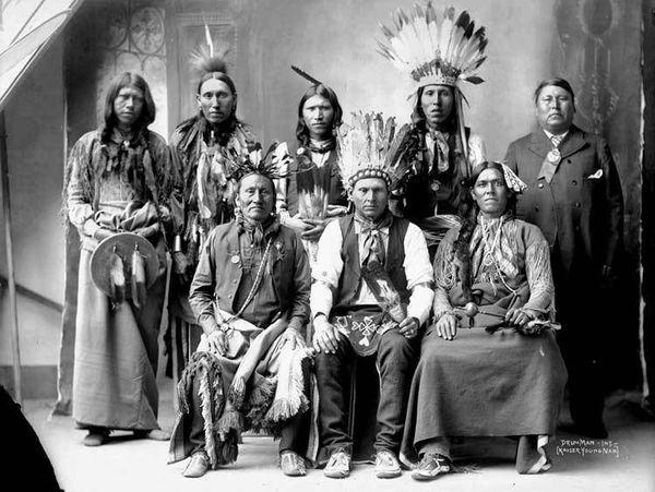 Почему индейцы не стригли волосы (1 фото)