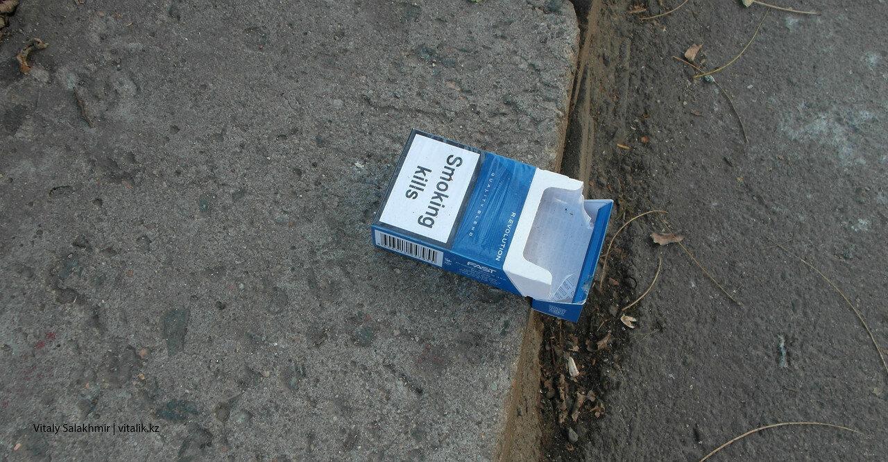 Курение убивает.
