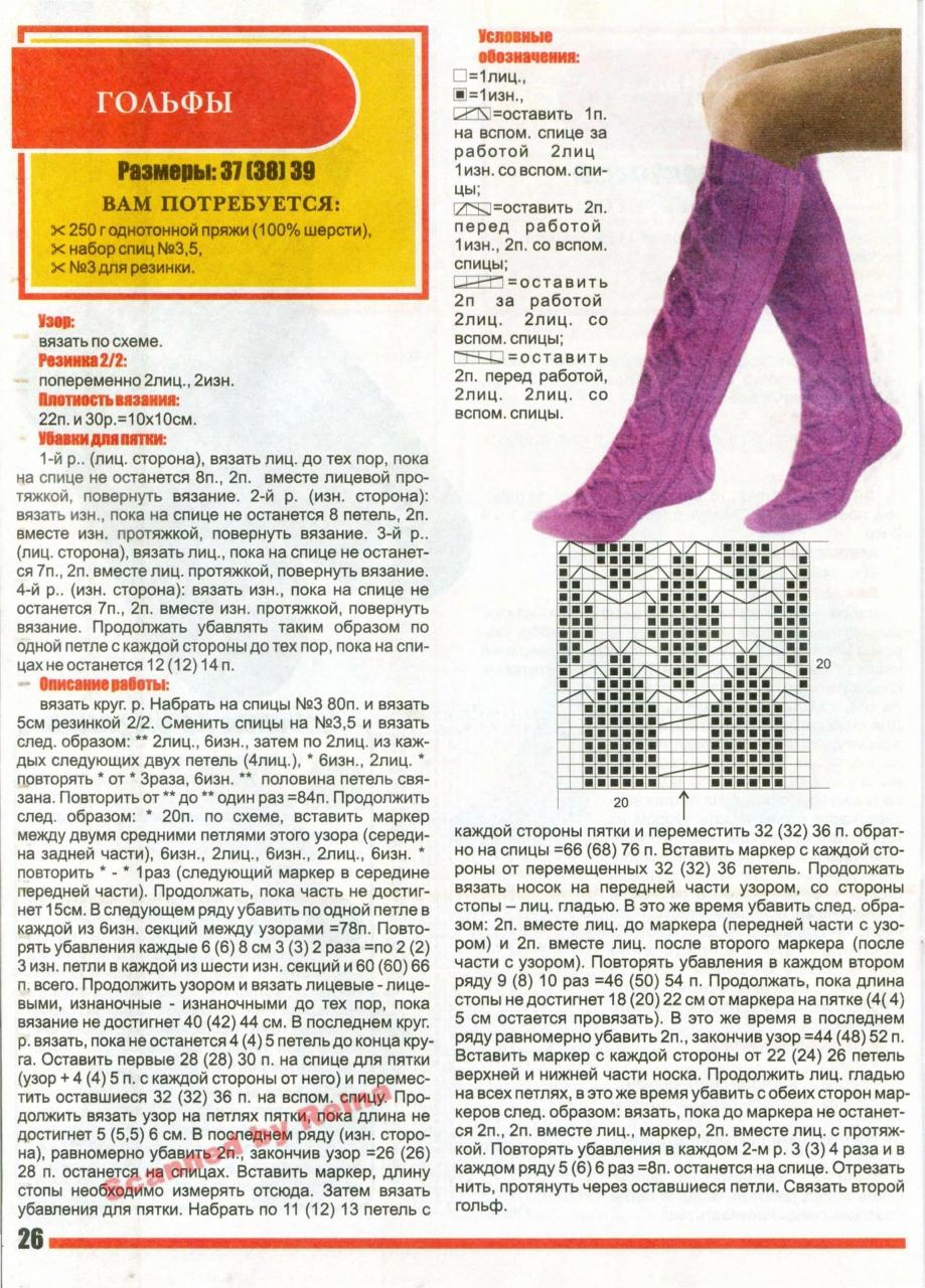 Вязание варежек и носков