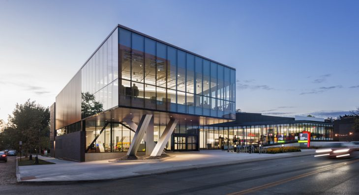 NBBJ  designed the Northside Library located in Columbus, OH, United States, in 2017