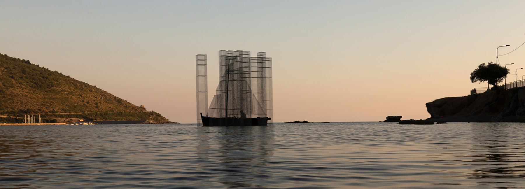 Ghostly Floating Installation by Edoardo Tresoldi