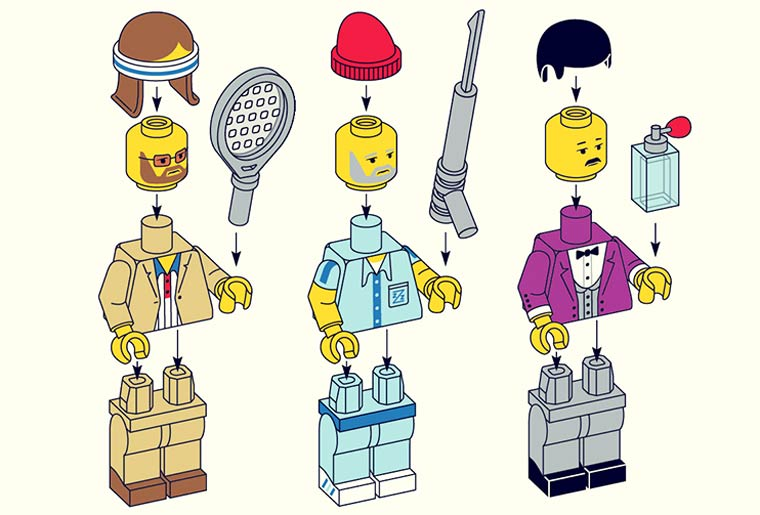 LEGO Wes Anderson – The cult characters of Wes Anderson as LEGO Minifigs (12 pics)