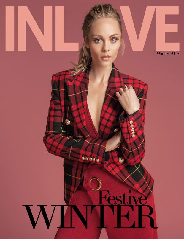 Laura Vandervoort is the Cover Girl of In Love Magazine Winter 2017 Issue