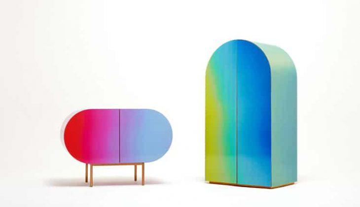 South Korea-based design studio  Orijeen  designed the innovative Color Flow collecto