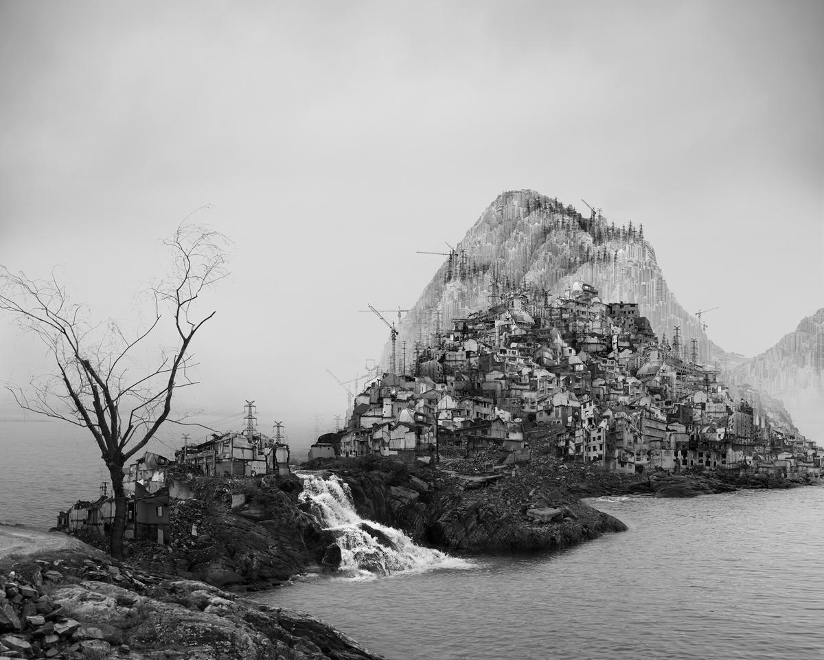 Flooding , 2016. Giclee print on Fine Art paper, 80 x 100 cm
