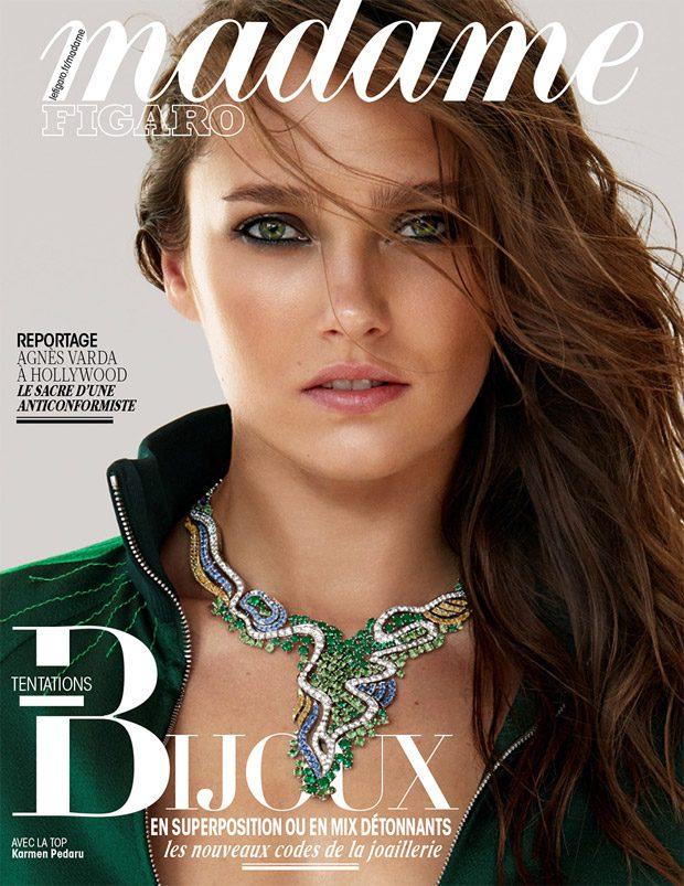 Supermodel Karmen Pedaru Stars in Madame Figaro Cover Story (20 pics)