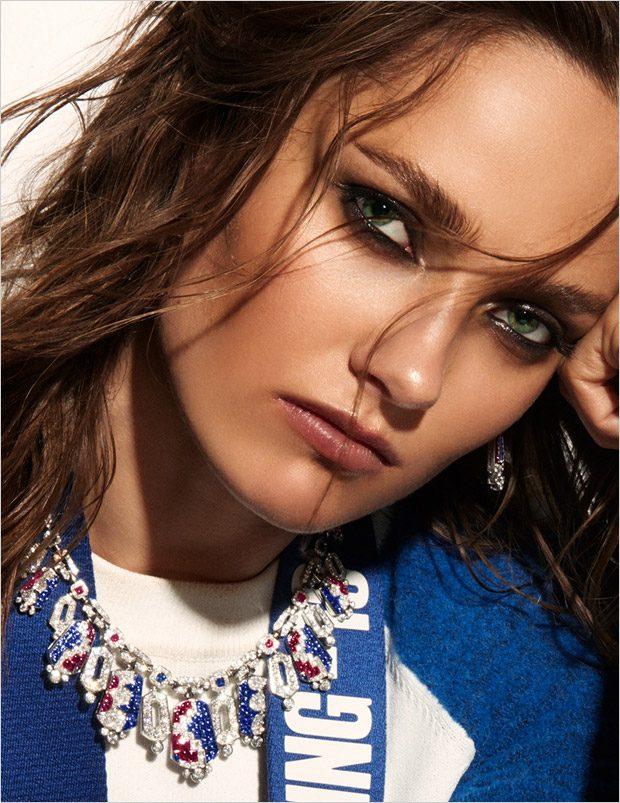 Supermodel Karmen Pedaru Stars in Madame Figaro Cover Story