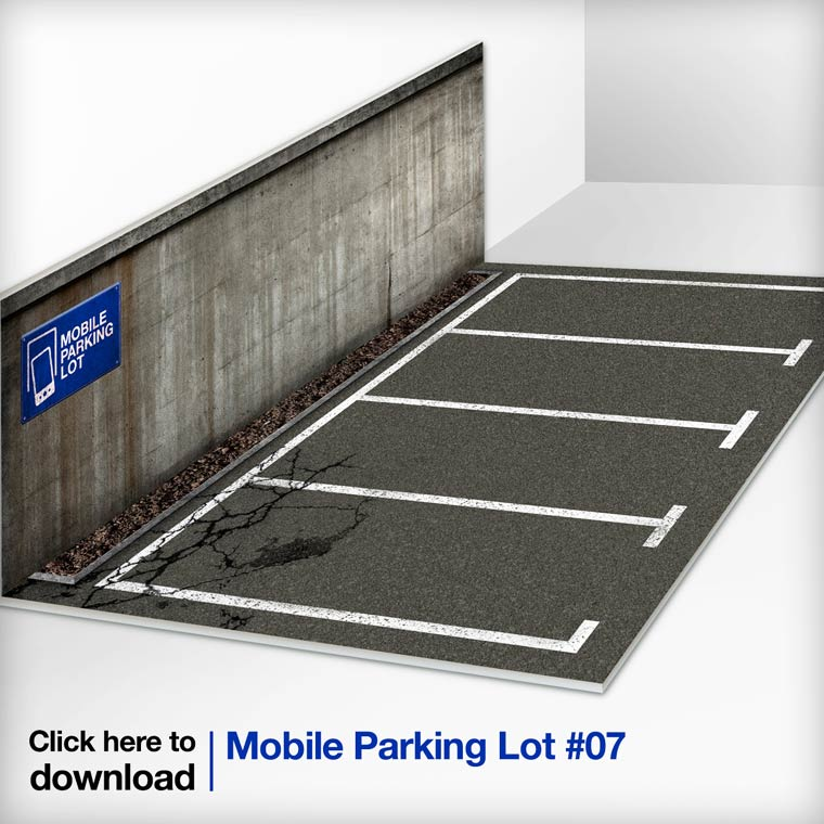 Mobile Parking Lot – Clever miniature parking spaces for your smartphones