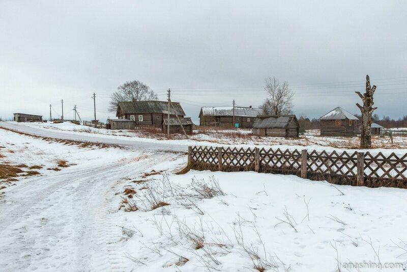 Дома в Гневашевской, Вологодская область