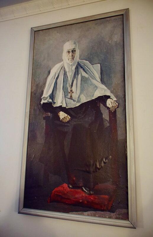 Корин П.С.  Последний прижизненный портрет Фамари (Марджановой)