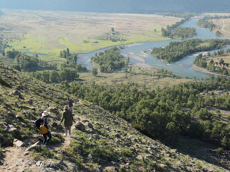 Горный Алтай, путь к Каменный грибам (Mountain Altai, the path to the Stone mushrooms)