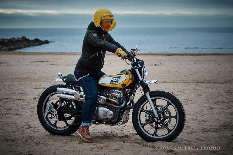 Psycho Chopps: Скрэмблер Kawasaki KZ440