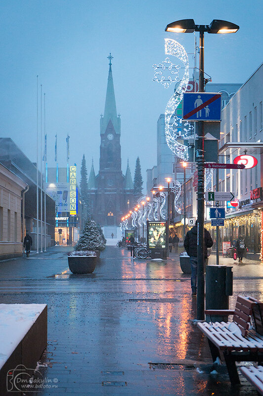 Mikkele перед Рождеством