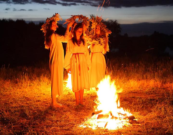 отгоняем злых духов