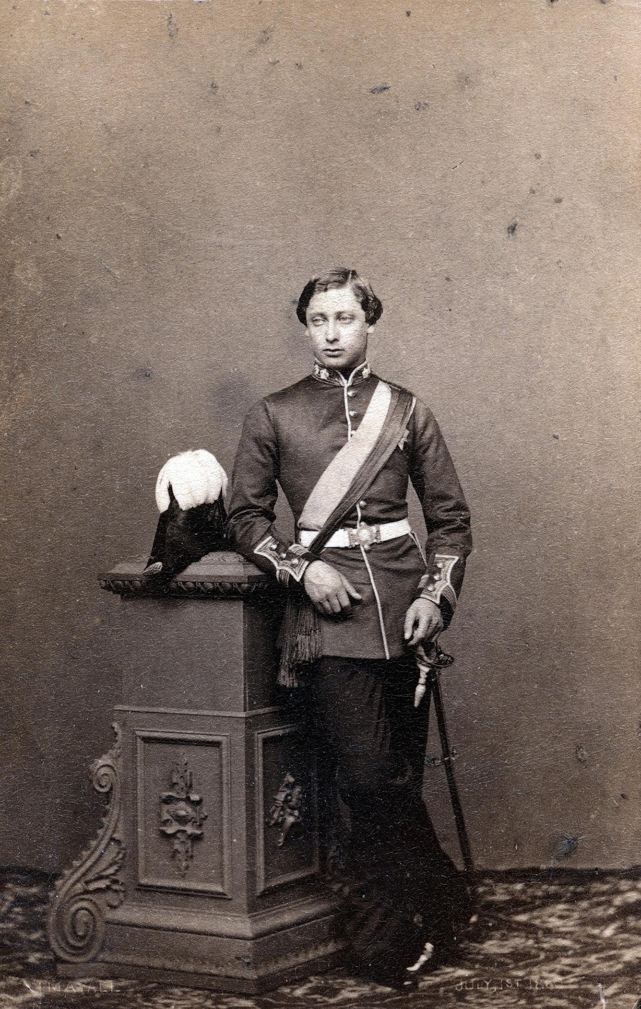 1861. Альберт Эдуард, принц Уэльский