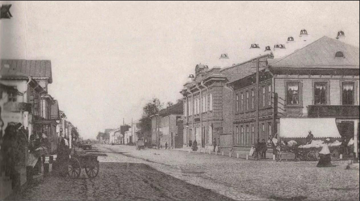 Поморская улица в сторону Псковского проспекта