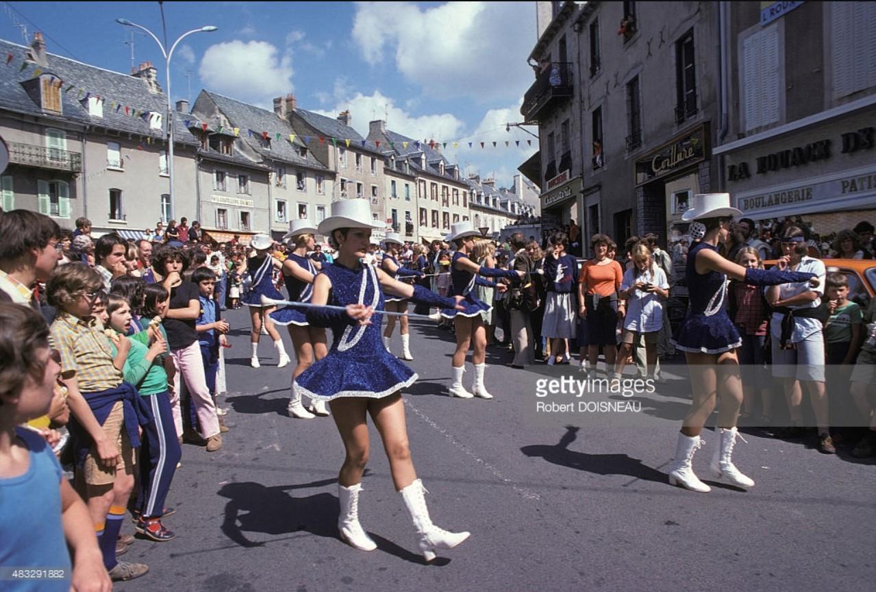 1978. Парад мажореток