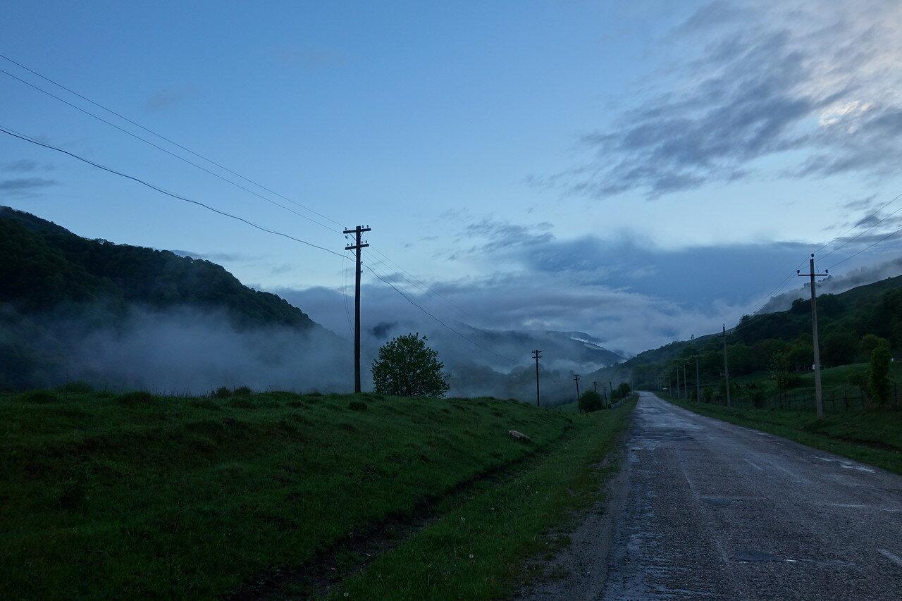 вечерняя долина