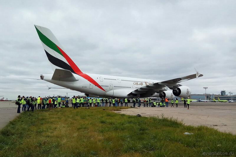 Airbus A380-861 (A6-EDC) Emirates 2017-10-01140716