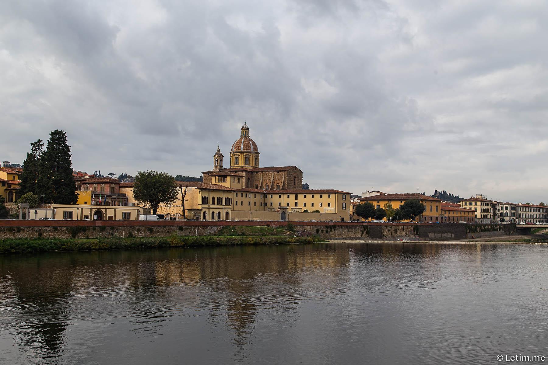Набережная реки Арно во Флоренции