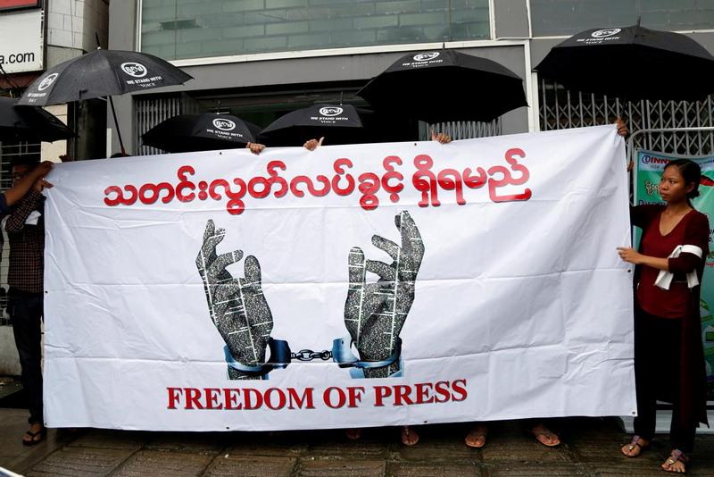 Страны с ограничениями свободы слова
