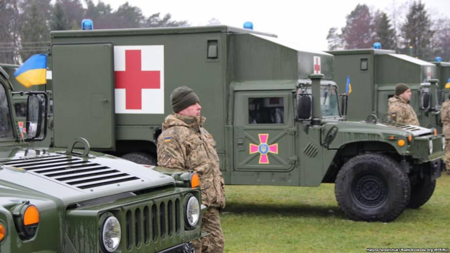 США передали украинским боевым бригадам 40 современных медицинских «Гамві»