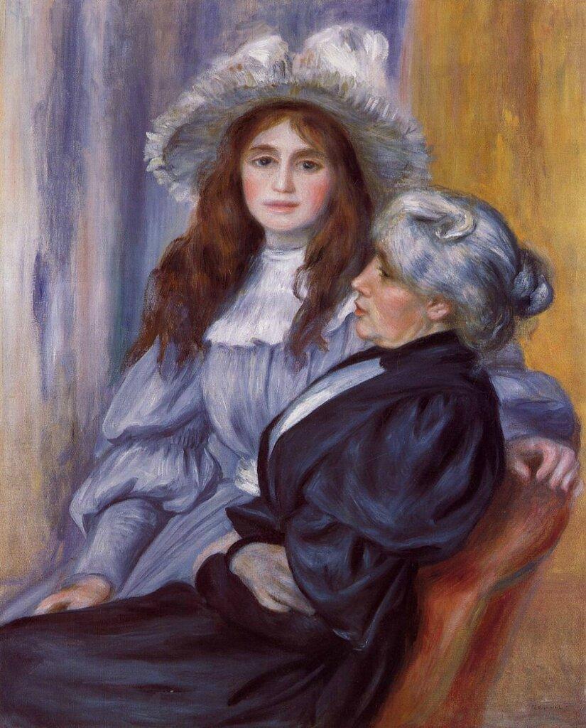 Пьер Огюст Ренуар: Берта Моризо и ее дочь Жюли Мане, 1894